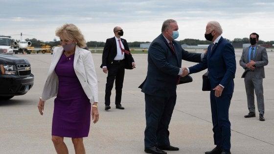 """Biden a Kenosha incontra la famiglia Blake: """"Incriminare gli agenti responsabili"""""""