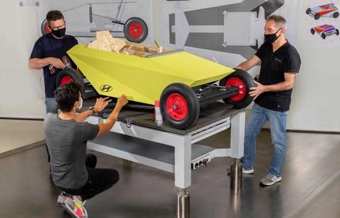 Soapbox Hyundai, l'auto che si costruisce in casa