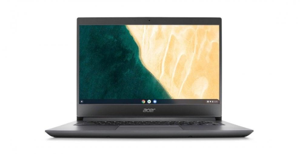 Acer Chromebook 714, velocità e resistenza