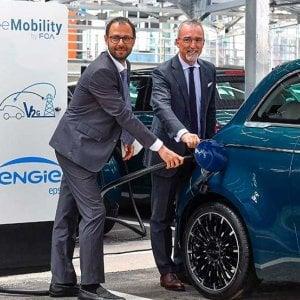Così l'auto scambierà energia con la rete: a Mirafiori il più grande centro del mondo