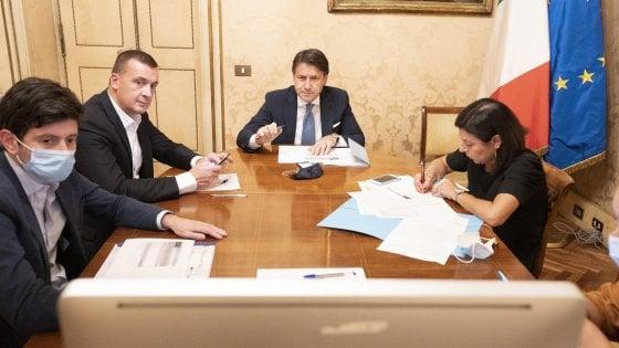 """Vertice a Palazzo Chigi: """"Soddisfatti per la ripartenza delle scuole"""""""