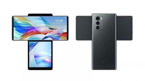 LG, arriva smartphone Wing: sotto al display rotante un altro schermo