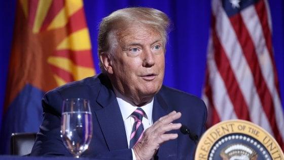 """Trump minaccia l'Iran: """"Risposta a ogni attacco sarà mille volte più forte"""""""
