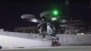 Primo test in Turchia dell'auto volante