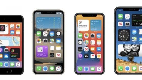 Apple |  ecco iOS14 |  l'iPhone cambia come mai prima  La nostra prova