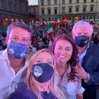 """Il centrodestra unito a Firenze con Ceccardi: """"Cambiamento a portata di mano"""""""