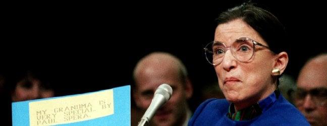 """Usa, addio a Ruth Bader Ginsburg, giudice icona liberal della Corte Suprema. Le ultime volontà: """"Sostituitemi dopo le elezioni""""Rep Tv La commozione di Joe Biden"""