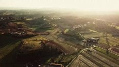 Val d'Orcia: il fascino dei giardini all'italiana e delle terme di Bagno Vignoni