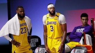 Basket Nba, finale Ovest: i Lakers vincono gara 1 contro Denver