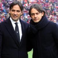 Simone contro Pippo, la sfida degli Inzaghi. Per ora in amichevole