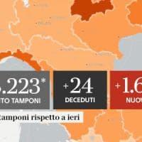 Coronavirus, il bollettino di oggi 19 settembre: 1.638 nuovi contagi e 24 decessi