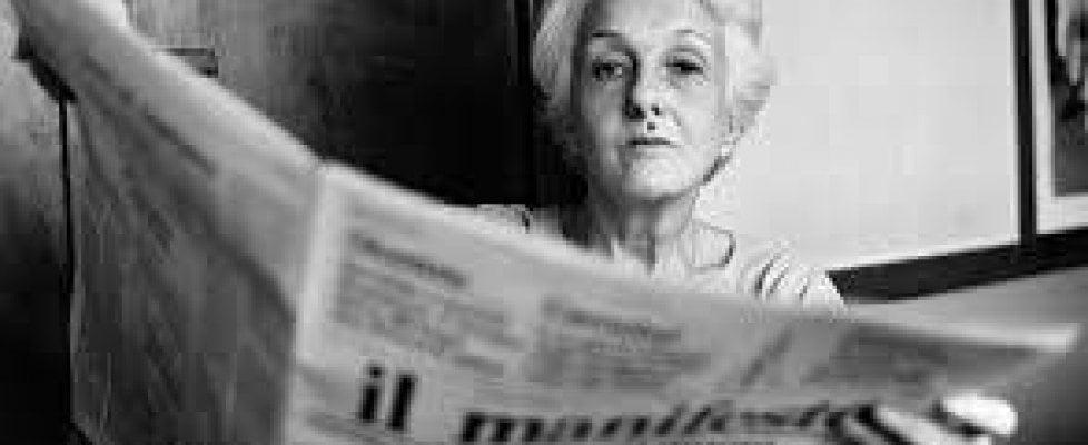 E' morta Rossana Rossanda, fondatrice del Manifesto, giornalista e intellettuale