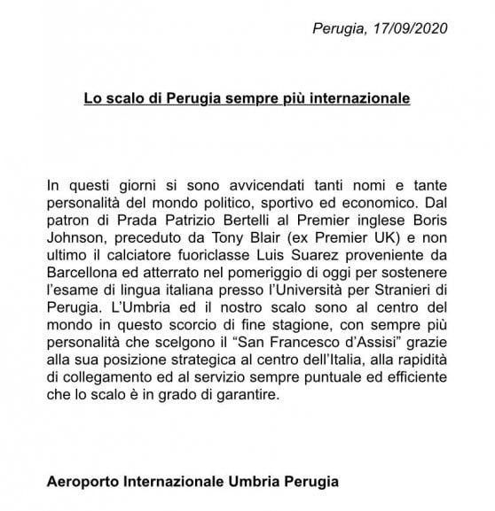 "The mystery of Boris Johnson's ""trip to Perugia"""