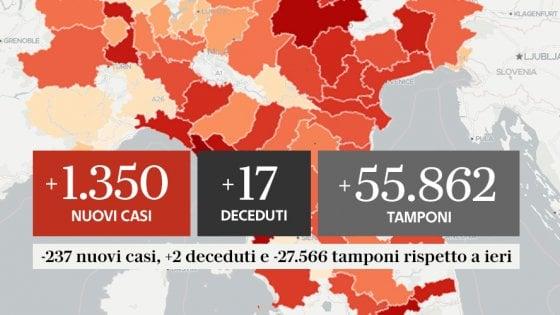 Coronavirus Il Bollettino Di Oggi 21 Settembre Aggiornamento Sui Casi Positivi I Ricoverati E I Guariti La Repubblica