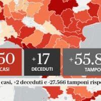 Coronavirus, il bollettino di oggi 21 settembre, dati in calo: 1.350 casi, 17 decessi e...