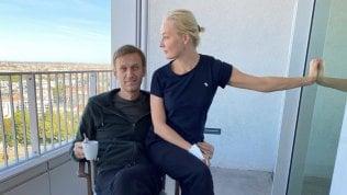 Navalnyj e la moglie Yulia