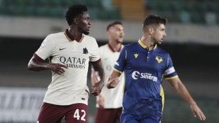 Roma, Diawara fuori lista: col Verona sarà ko per 3-0 a tavolino