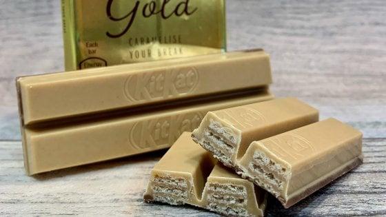 Il KitKat d'oro arriva anche in Italia (in edizione limitata)