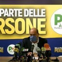 """Regionali, Zingaretti: """"Pd primo partito, ora aprire tre cantieri: riforme, Recovery fund..."""