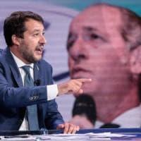 """Lega, Salvini annuncia: """"Ci sarà una segreteria politica. Più delego e più sono contento"""""""