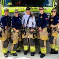 """Usa, la squadra di pompieri tutta al femminile: """"Possiamo fare tutto"""""""