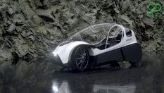 Idea Velomobile, l'auto elettrica a pedali