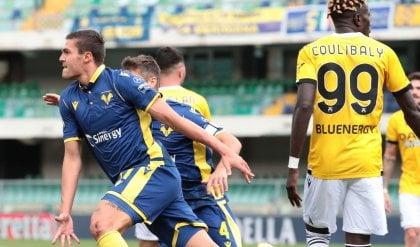 Il Verona resta a punteggio pieno  Favilli stende l'Udinese: 1-0