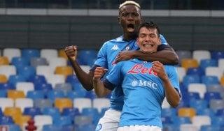 Napoli-Genoa 6-0: valanga azzurra, e Lozano firma una doppietta