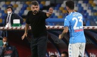 """Napoli, Gattuso: """"Stiamo crescendo ma serve maggiore equilibrio"""""""