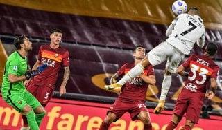 Roma-Juventus 2-2: Veretout illude i giallorossi, Ronaldo salva i bianconeri
