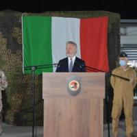 """Guerini rassicura l'Iraq: """"I nostri militari rimangono a Bagdad"""""""