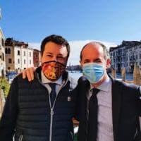 Salvini cavalca l'onda di Zaia in Veneto e riempie i social di foto con il governatore