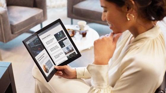 "Lenovo svela il primo notebook ""foldable"" e un laptop ultraleggero"