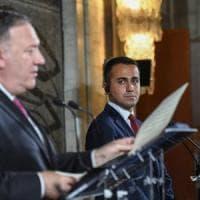 """Pompeo a Roma critica Pechino sul 5G, l'ambasciata cinese: """"Chi semina odio raccoglie..."""