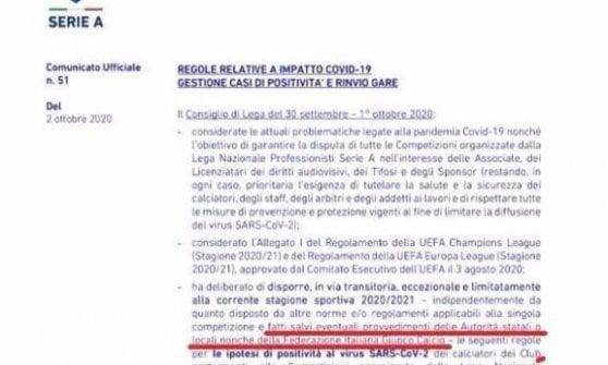 Juventus-Napoli, Asl vieta la cessione degli azzurri, ma i bianconeri saranno a terra. La Lega: la partita non verrà posticipata