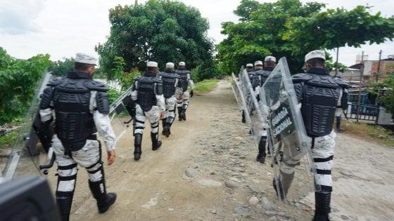 145029736 1f47afa5 5471 4465 8947 7fd2740d9828 - L'addio in Guatemala ai 19 scheletri sulle Jeep: bruciati dai trafficanti messicani sulla via per gli Usa