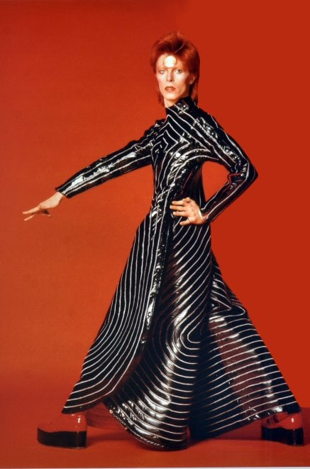 Bowie, le foto di un mito esposte a Palermo