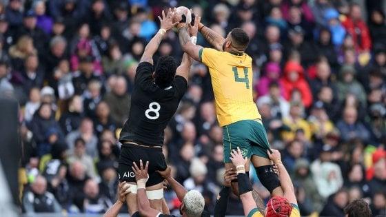 Rugby, spettacolo a Wellington: Nuova Zelanda-Australia finisce in parità