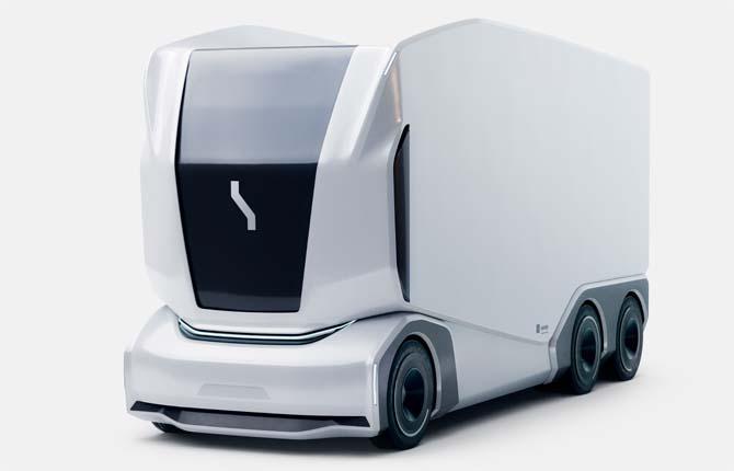 Pronto il primo camion elettrico a guida autonoma