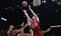 Basket, serie A: Milano non sbaglia un colpo, la Virtus Bologna cade in casa