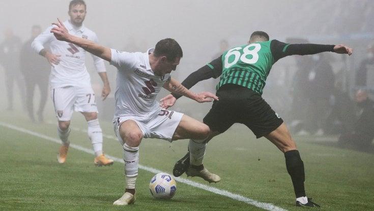 Sassuolo-Torino 3-3, Chiriches e Caputo firmano la rimonta neroverde