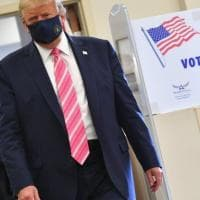 Usa 2020, Trump vota in Florida