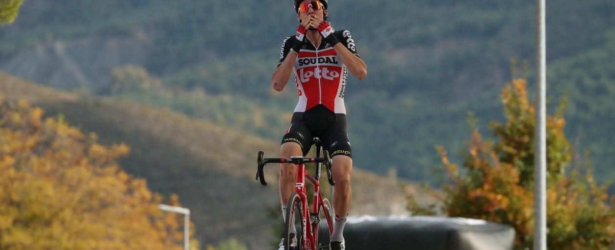 Ciclismo, Vuelta: a Wellens la quinta tappa, Roglic conserva la maglia rossa