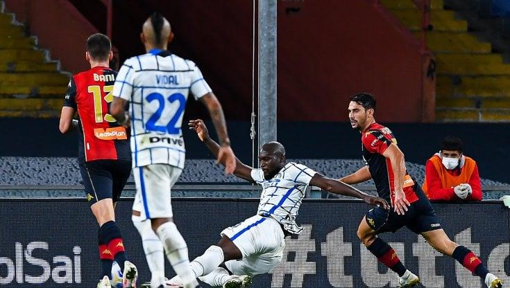 Genoa-Inter 0-2, Lukaku e D'Ambrosio rilanciano i nerazzurri