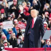 Comizi, folle e applausi, Trump scommette sulla rimonta finale