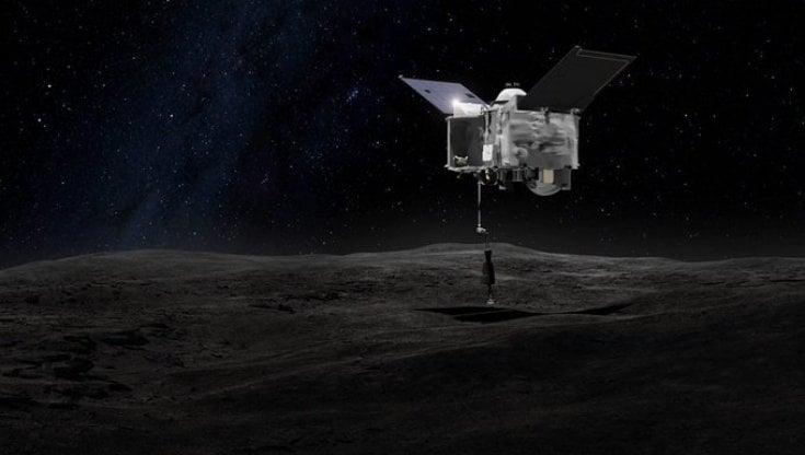 Asteroidi, successo di Osirix-Rex: raccolte le polveri di Bennu