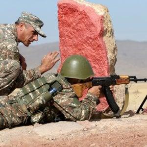 180304674 426c6806 516d 4c06 8bc3 61ea157e2de5 - Droni, forze speciali ed effetto sorpresa: così gli azeri hanno sconfitto gli armeni in Nagorno-Karabakh