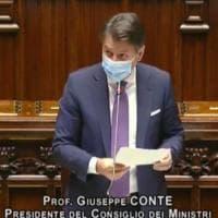 """Coronavirus, Conte alla Camera: """"Non ne usciamo da soli, serve risposta coordinata in..."""