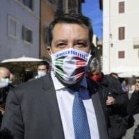 """Covid, Salvini: """"Il lockdown? Se necessario è giusto"""". Ma poi: """"Chiusura totale? Un..."""