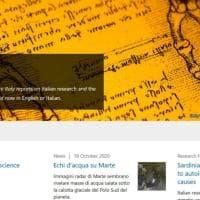 """Nasce online """"Nature Italy"""", versione italiana della prestigiosa rivista scientifica"""